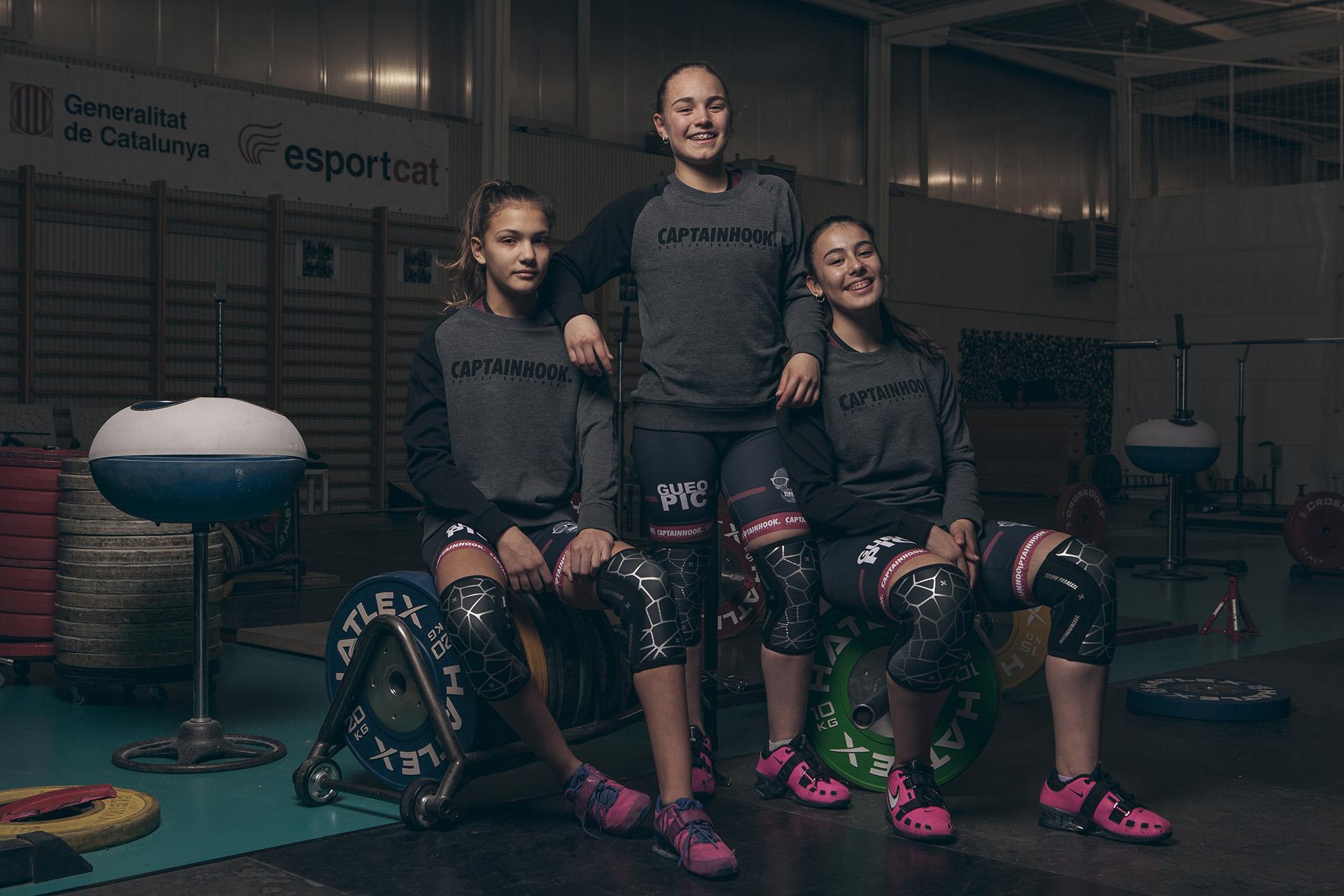 chicas fuertes